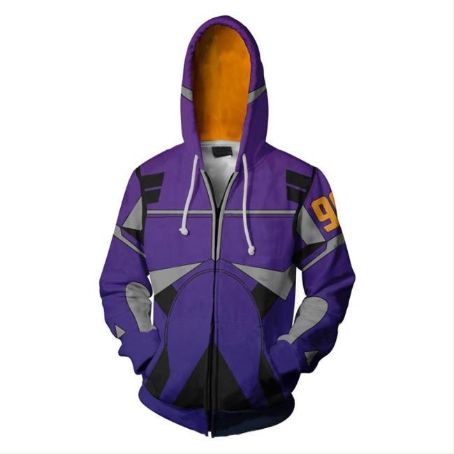 Alita: Battle Angel Alita Hoodie mit Kaputze Jacke mit Reißverschluss Druck Kostüm