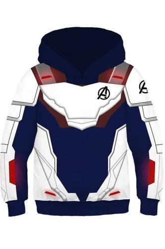 Avengers: Endgame Technical Specifications Hoodie für Kinder 3D Print Quantenreich Suit Quantum Realm Suit Sweatshirt Pullover mit Kaputze Version B