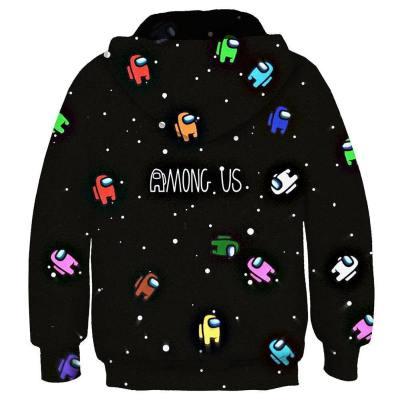 Among us Cosplay Hoodie 3D Druck Kinder Sweatshirt Kinder Pullover mit Kaputze für Alltag