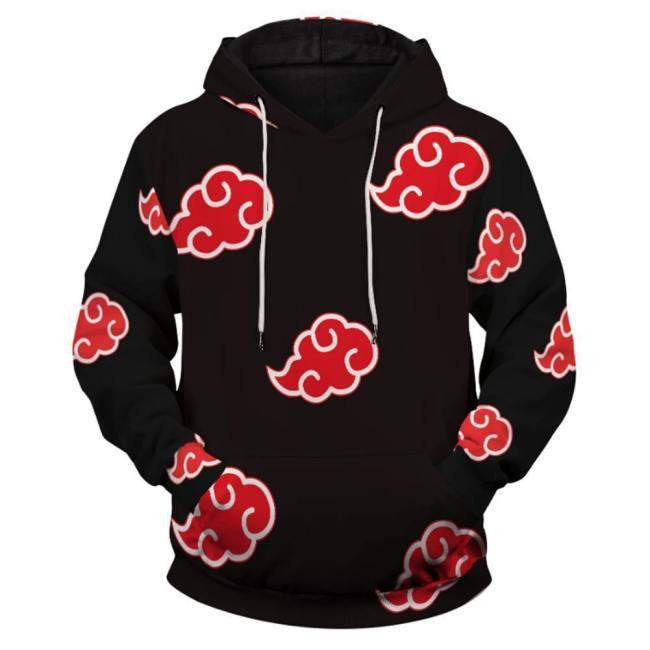 Naruto Cosplay Hoodie Adult Hooded Sweatshirts Pullover
