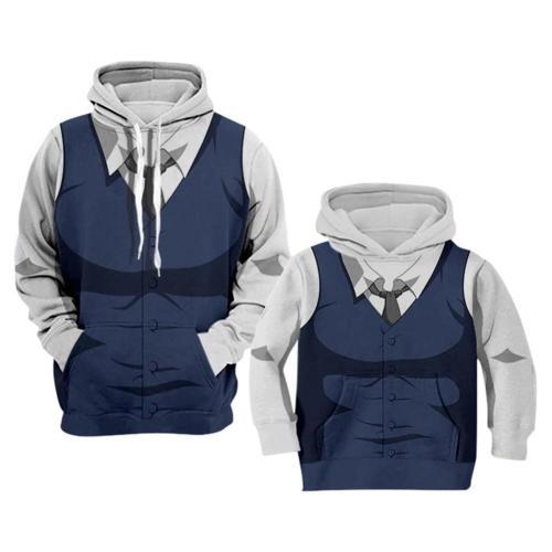 Beastars Cosplay Hoodie 3D Druck Sweatshirt Erwachsene Pullover mit Kaputze für Alltag