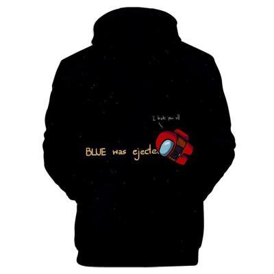 Among Us Erwachsene Kaputzenpullover Hoodie 3D Druck Sweatshirt Pullover mit Kaputze