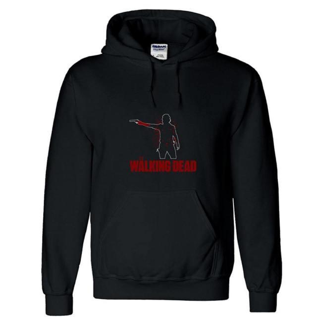 3D-Druck Hoodie Baumwolle Sweatshirt The Walking Dead Pullover mit Kaputze