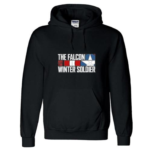 3D Druck Hoodie The Falcon and the Winter Soldier Baumwolle Pullover mit Kaputze