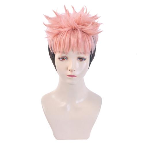 Yuji Itadori Perücke Jujutsu Kaisen Perücke Cosplay Perücke rosa