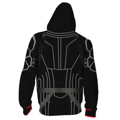 Avengers 4 Avengers: Endgame Black Widow Hoodie Scarlett Jacke mit Reißverschluss Pullover mit Kaputze