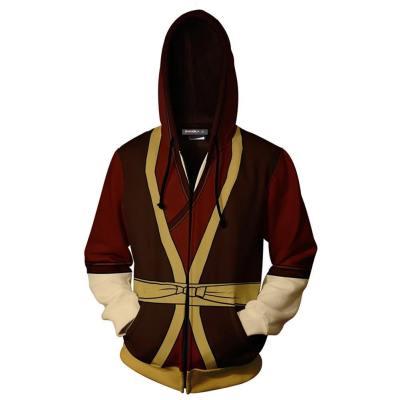 Avatar: the last Airbender Zuko Jacke Cosplay Hoodie Erwachsene 3D Druck Hooded Jacke Sweatshirt