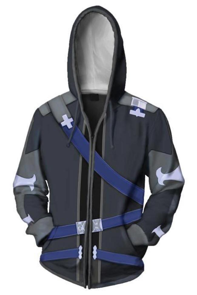 Anime Sword Art Online Hoodies - SAO Kirigaya Kazuto Kirito Hoodie