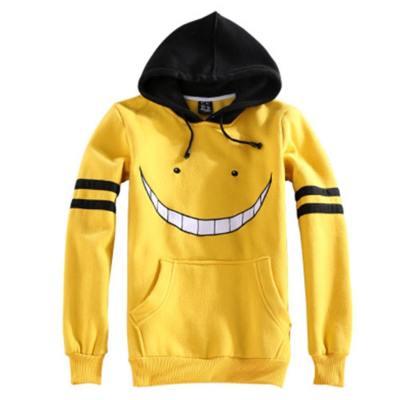 Assassination Classroom Korosensei Cosplay Hoodie Hooded Sweatshirt Pullover mit Kaputze für Erwachsene