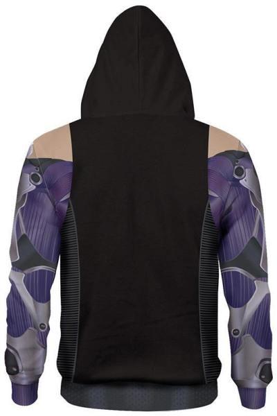 Alita: Battle Angel Alita Hoodie Sweatshirt Pullover mit Kaputze Kostüm für Erwachsene