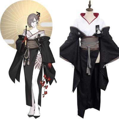 NieR Reincarnation Assassin Akeha Kimono Cosplay Halloween Karneval Kostüm