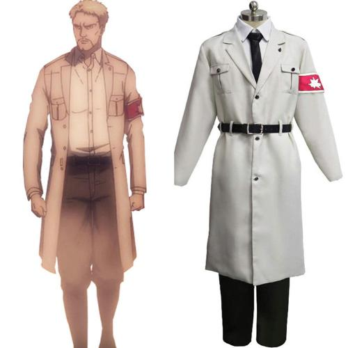 Attack on Titan Shingeki no Kyojin Marley Uniform Cosplay Halloween Karneval Kostüm