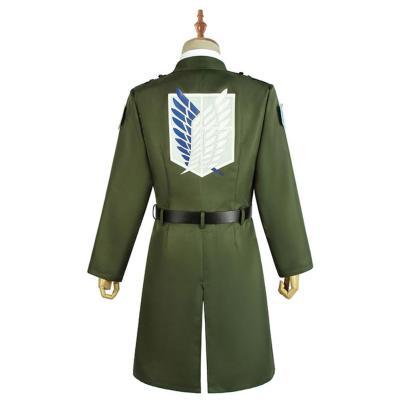 Attack on Titan Levi Eren Mikasa Cosplay Kostüm Scouting Legion Mantel Halloween Karneval Uniform