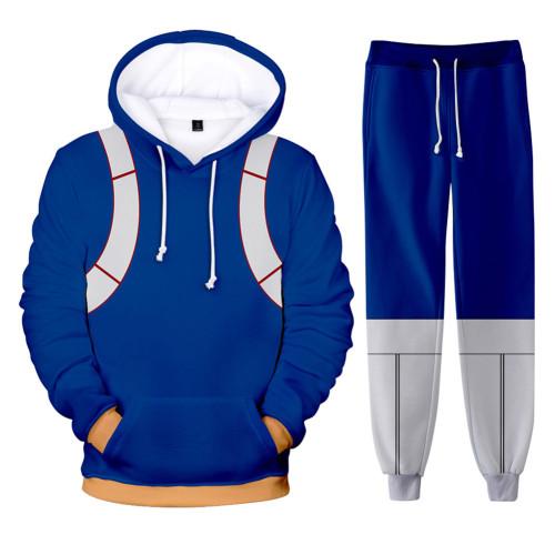 My Hero Academia Boku no Hero Akademia Shoto Shouto Todoroki 3D Druck Sweatshirt Pullover Jogginghose Joggen Set für Erwachsene