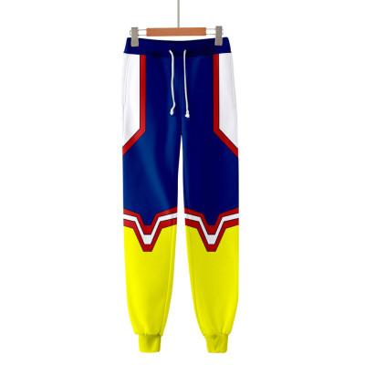 Toshinori Yagi My Hero Academia Boku no Hero Akademia Allmight 3D Druck Sweatshirt Pullover Jogginghose Joggen Set für Erwachsene