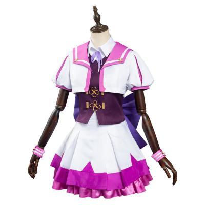 Umamusume Pretty Derby Special Week Schulunifrom Cosplay Halloween Karneval Kostüm