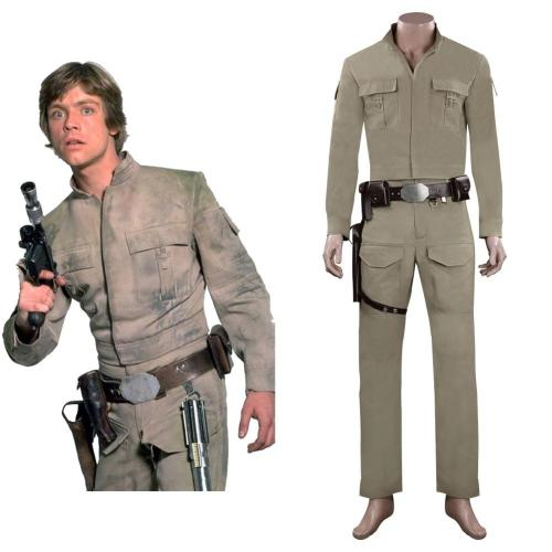 Star Wars Luke Skywalker Cosplay Kostüme Halloween Karneval  Outfits