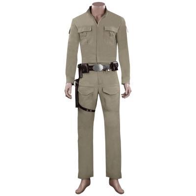 Star Wars Luke Skywalker Cosplay Kostüme Halloween Karneval  Outfits