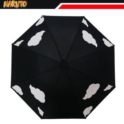 NARUTO Regenschirm mit Aqua Effekt Winddicht Wasserdicht UV-Schutz Taschenschirm