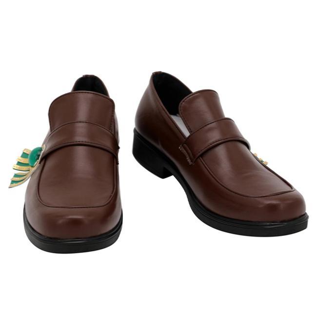 Genshin Impact Venti Cosplay Schuhe Halloween Schuhe