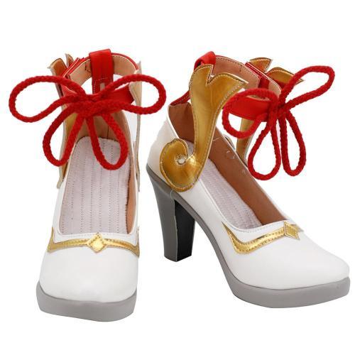 Genshin Impact Gan Yu Cosplay Schuhe Halloween Schuhe