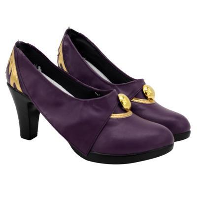 Genshin Impact Keqing Cosplay Schuhe Halloween Schuhe