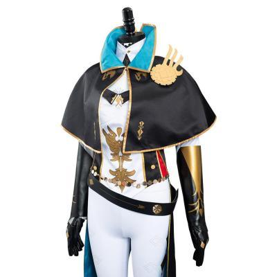 Genshin Impact Jean Gunnhildr Kostüm Cosplay Halloween Karneval Outfits