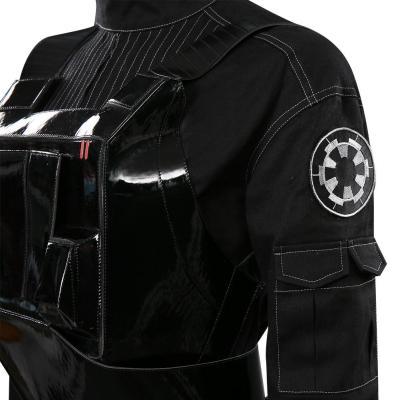 Star Wars Jyn Erso Pilot Bodysuit Kostüm Cosplay Halloween Karneval Outfits