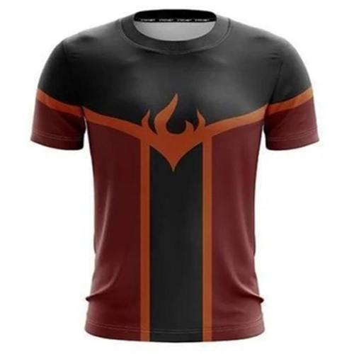 Avatar: The Last Airbender Die Legende von Aang 3D Druck T-shirt Oberteil Rundhals Kurzarm für Erwachsene Unisex