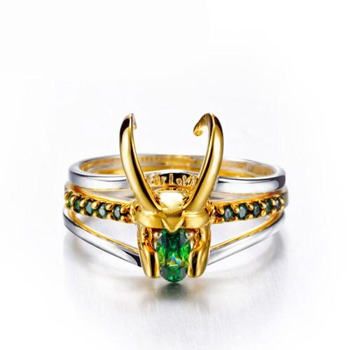 Ring für Loki Loki Ring 3tlg Ringe 925 Silber