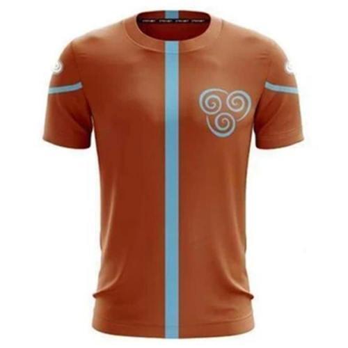 Avatar The Last Airbender Erwachsene Unisex Sommer T-shirt T-Shirts Oberteil Rurzarm Hundhals