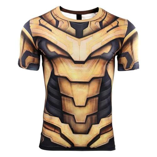 Avengers 4 Endgame Avengers: Infinity War - Part II Thanos T-Shirt Top Kurzarm Rundhals