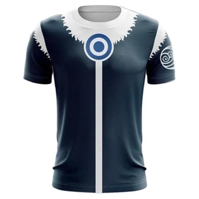 Avatar – Der Herr der Elemente The Last Airbender Korra 3D Druck T-shirt Erwachsene T-Shirts Sommer Oberteil