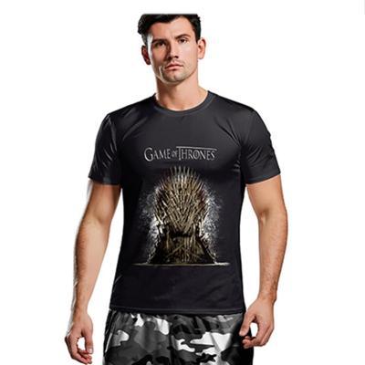GOT Game of Thrones Staffel 8 Spiel der Throne Top T-Shirt Kurzarm Rundhals für Alltag