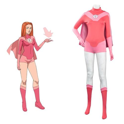 Invincible Atom Eve Cosplay Kostüme Halloween Karneval Outfits