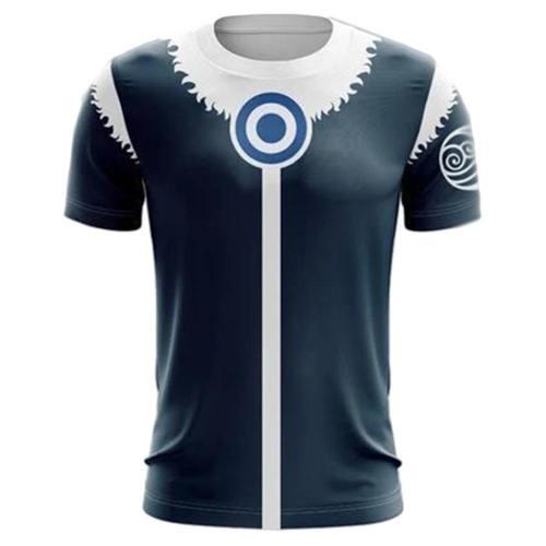 Avatar The Last Airbender 3D Druck T-shirt Unisex T-Shirts Oberteil Erwachsene