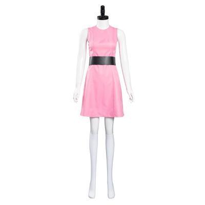 Powerpuff Girls Blossom Kleid Mädchen Kleid Cosplay Kostüm