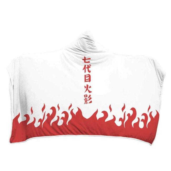 Naruto Der Siebte Hokage Hooded Decke Zudecke Tragbar Decke