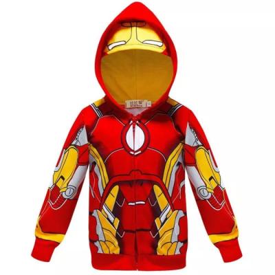 Batman Thor Superman Jungen Hoodie The Avengers Captain America Iron Man Sweatshirt Pulli Pullover für Kinder