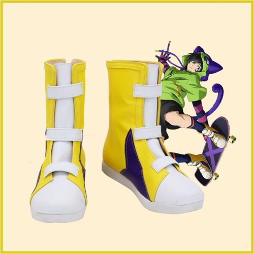 SK8 The Infinity Miya Stiefel Cosplay Schuhe