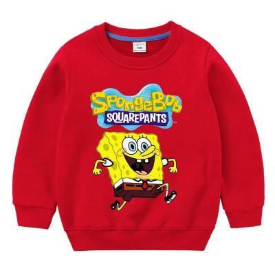 Kinder SpongeBob Shirt Herbst Klein Kinder Sweatshirts Langarm Baby Strampler Kinder Unisex Kostüm