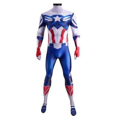 The Falcon and the Winter Solider Falcon Jumpsuit Bodysuit 3D Druck Kostüme