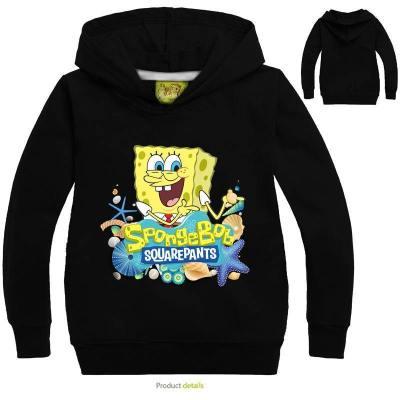 Kinder SpongeBob Hoodie Sweatshirt 3D Druck Sweatshirts Hoodie Kaputzepullover für Alltag