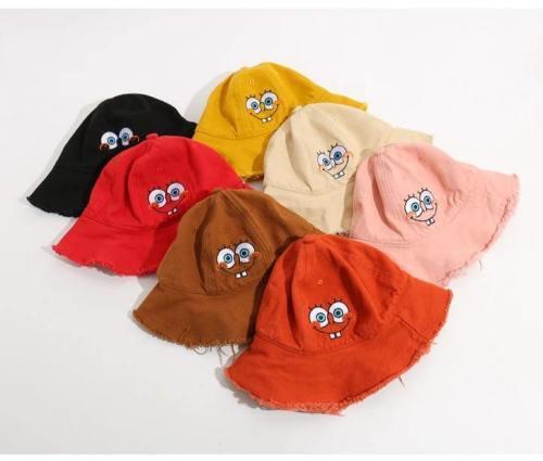 Kinder SpongeBob Fischerhut Mädchen Sommer Draussen Kappe