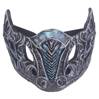 Mortal Kombat Kampfspiel Scorpion Hanzo Hasashi Sub-Zero Kopfbedeckung Cosplay Zubehör