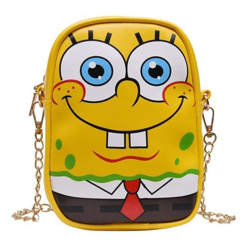 Kiinder SpongeBob Patrick Star Schultertasche Kinder Kartoon Tasche Umhängetasche