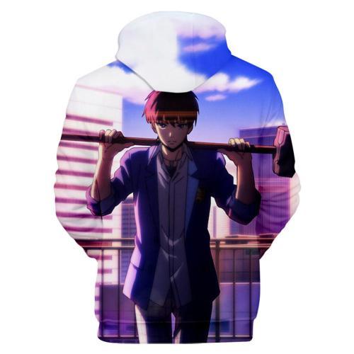 High-Rise Invasion Honjou Rika Pulli alltäglich Hoodie 3D Druck Sweatshirt Erwachsene Pullover mit Kaputze