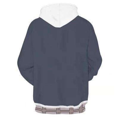 High-Rise Invasion Mayuko Nise Cosplay Hoodie 3D Druck Sweatshirt Pullover mit Kaputze für Alltag