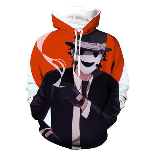 High-Rise Invasion Hoodie Snipe Mask Pulli Sweatshirt Pullover mit Kaputze für Erwachsene