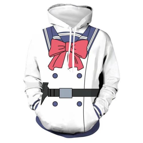 Yuri Honjo High-Rise Invasion Cosplay Hoodie 3D Druck Sweatshirt Erwachsene Pullover mit Kaputze